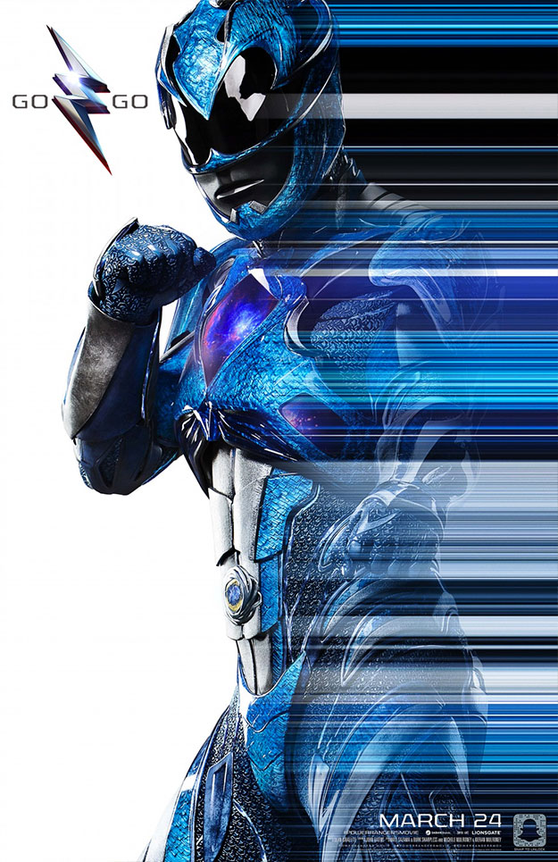Más carteles de Power Rangers