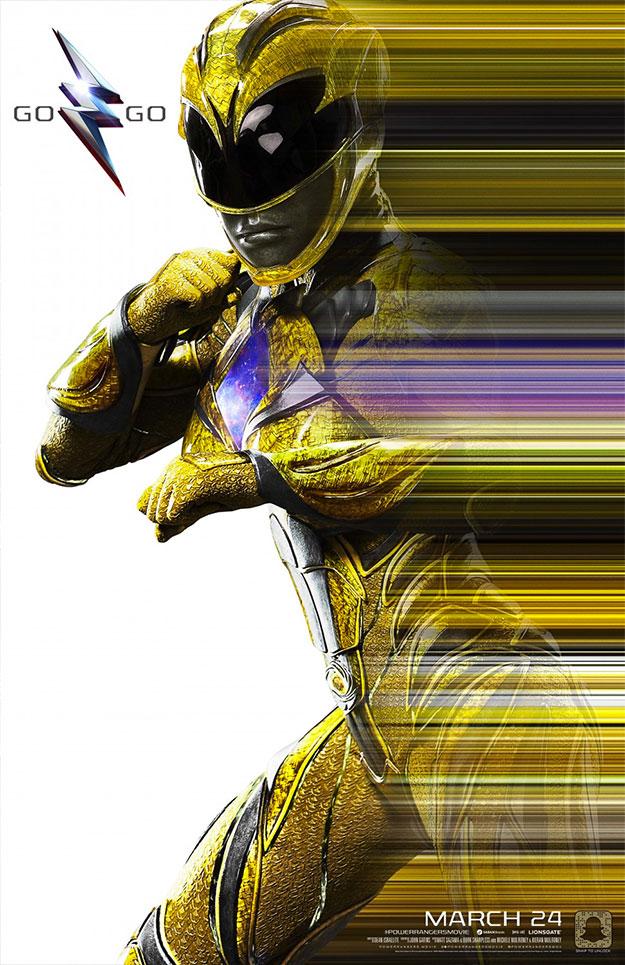 Muchos más carteles de Power Rangers