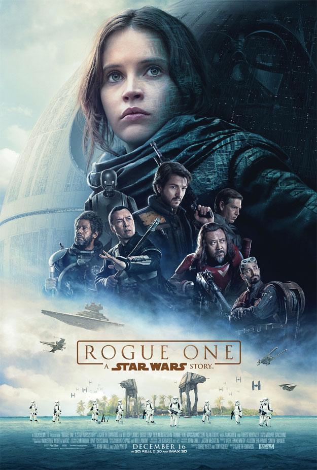 Cartel de Rogue One: Una Historia de Star Wars