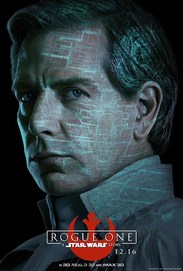 El Director Orson Krennic en Rogue One: Una Historia de Star Wars