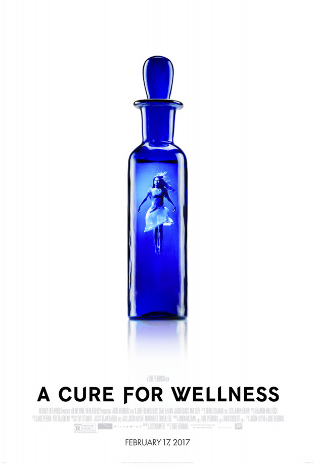 Las mejores esencias se sirven en frascos pequeños... A Cure for Wellness