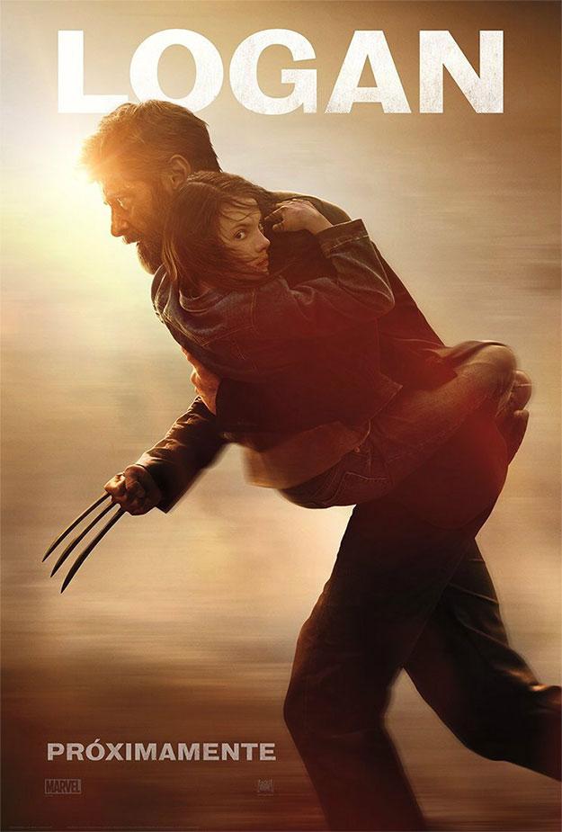 Diferente cartel de Logan... lo nunca visto