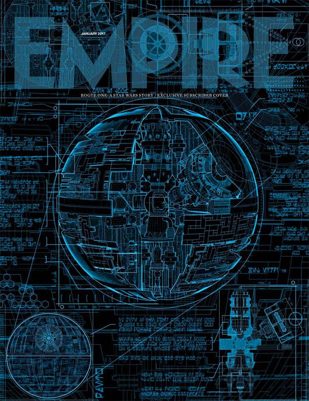 Portada de Empire para Rogue One: Una Historia de Star Wars