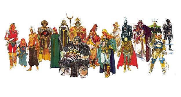 Diseño de personajes del Dune de Alejandro Jodorowsky