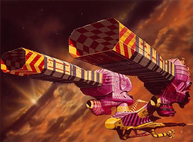 Una de las naves de Dune de Alejandro Jodorowsky