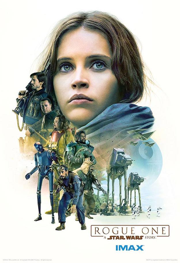 Primer cartel IMAX de Rogue One: Una Historia de Star Wars