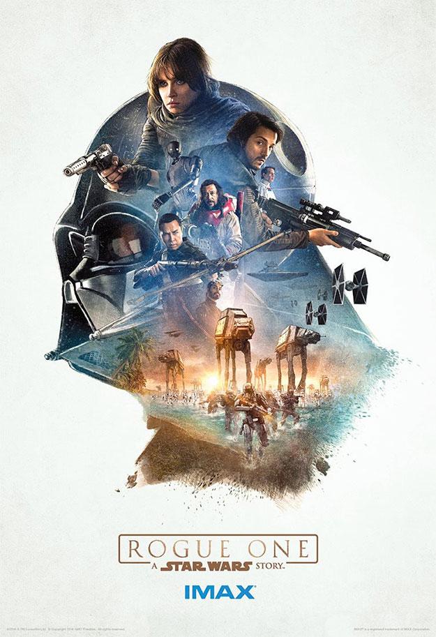 Segundo cartel IMAX de Rogue One: Una Historia de Star Wars
