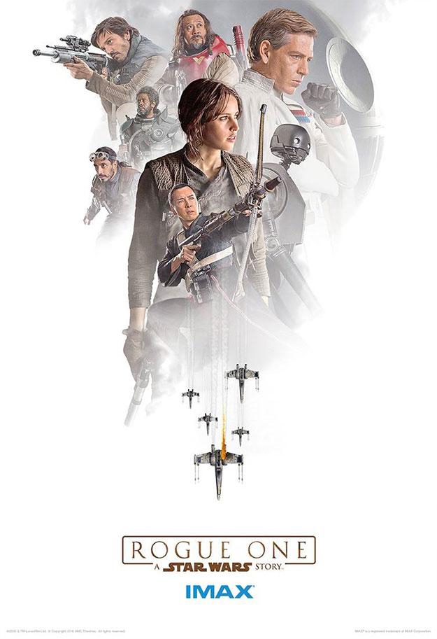 Tercer cartel IMAX de Rogue One: Una Historia de Star Wars
