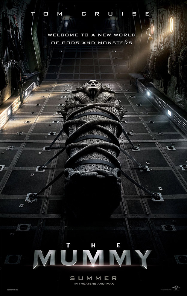 El primer cartel de The Mummy