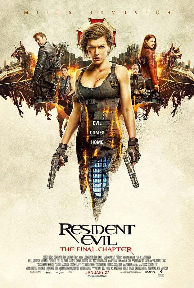 Me mola este carteld e Resident Evil: capítulo final