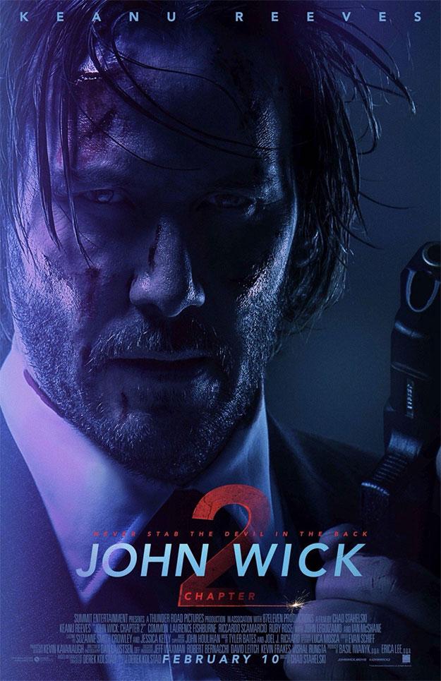 Un nuevo cartel de John Wick: pacto de sangre