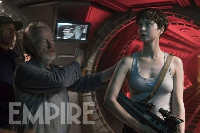 Una nueva imagen de Alien: Covenant... Katherine Waterson a tope