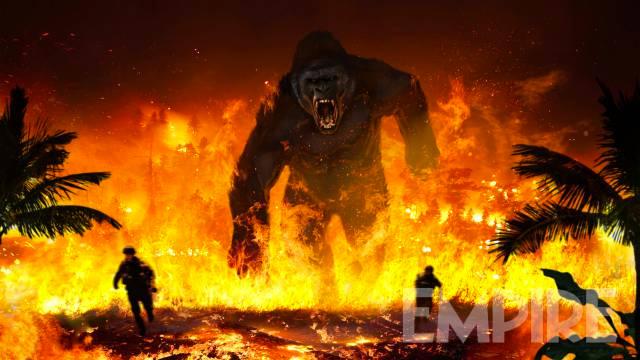 Ardiente concept art de Kong: Isla Calavera