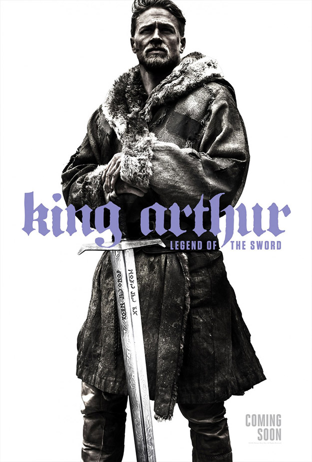 Buen póster de King Arthur: Legend of the Sword