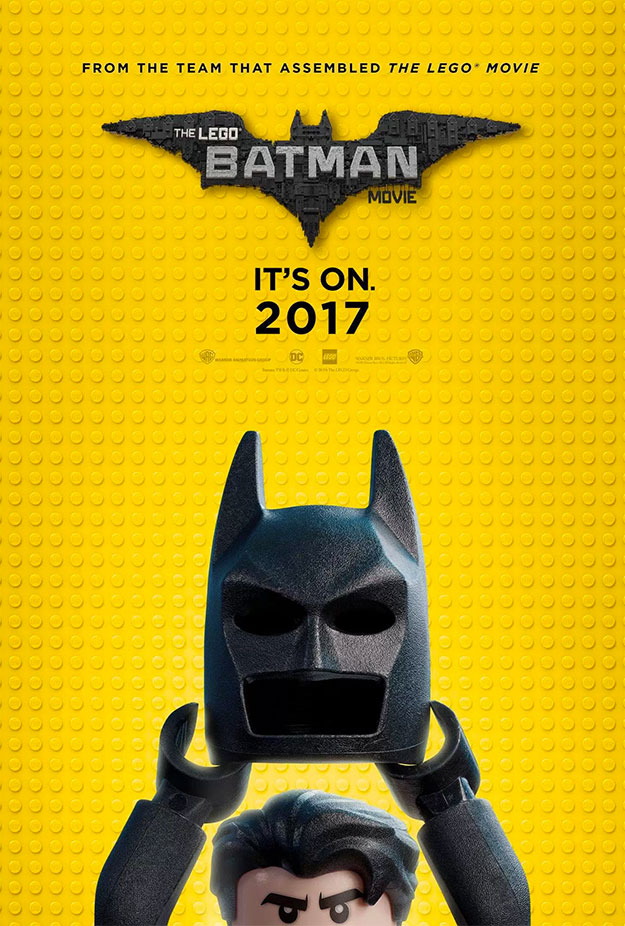 Simpático cartel de The Lego Batman Movie