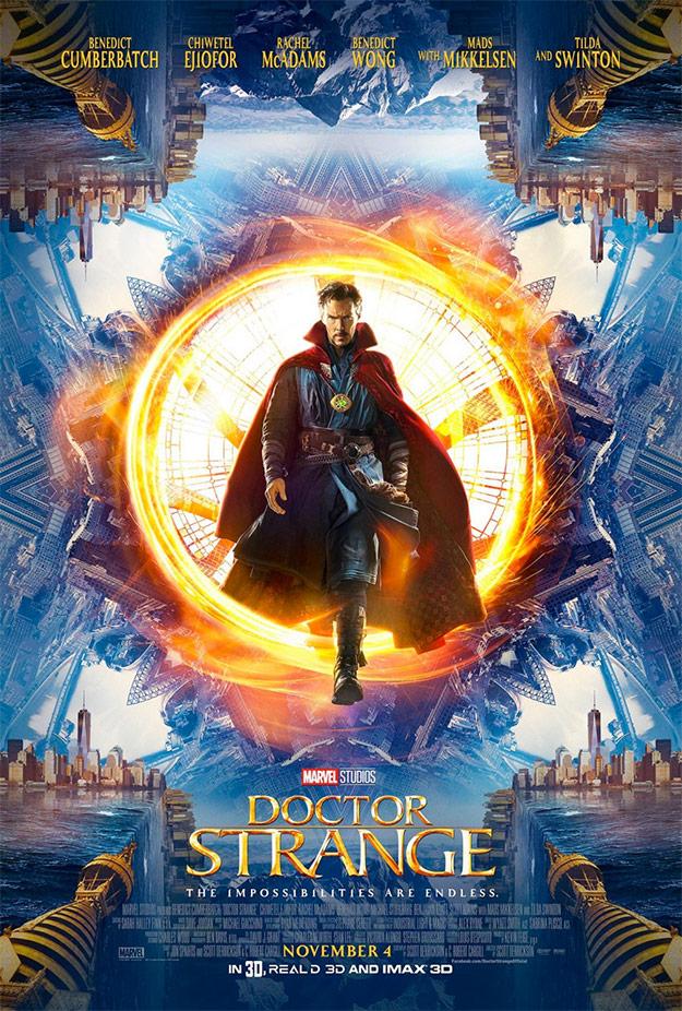 El nuevo cartel de Doctor Strange presentado en la Comic-Con 2016