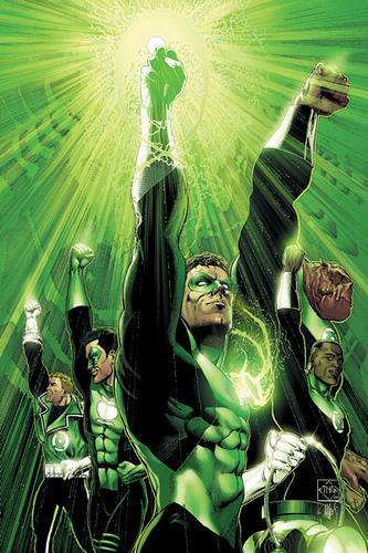 Todos los Green Lanter Humanos y Kilowog