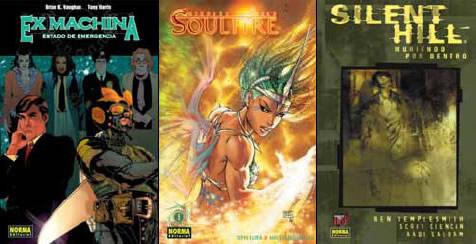 Ex Machina, Soulfire y Silent Hill