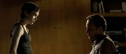 Ellen Page cara a cara con Patrick Wilson