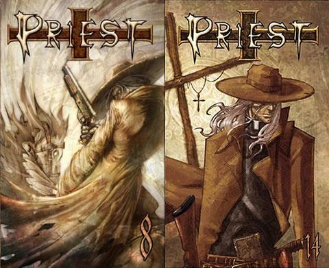 Un par de portadas de Priest