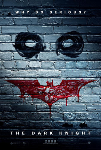 Teaser póster de The Dark Knight... no menos impresionante!