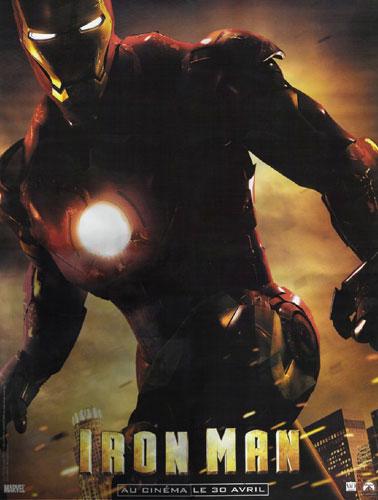 Nuevo cartel de Iron Man en CinéLive