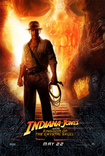 Nuevo póster oficial de Indiana Jones and the Kingdom of the Crystal Skull