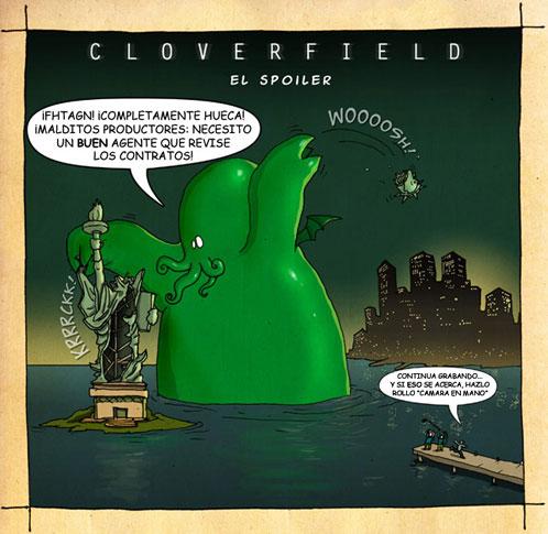 Cloverfield en modo Cthulhu