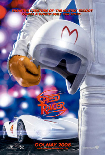 Primer cartel de Speed Racer
