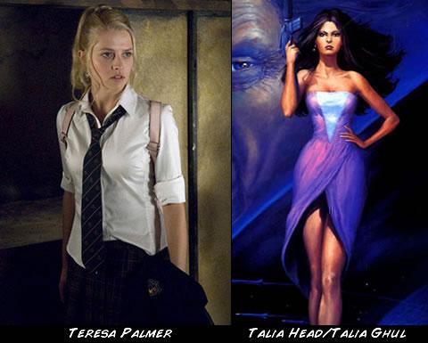 Teresa Palmer como Talia Ghul