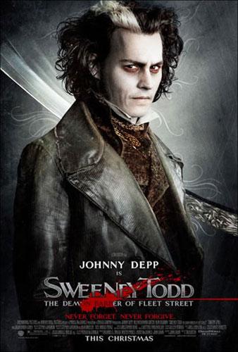 No hay dos sin tres, nuevo cartel para Sweeney Todd, The Barber of Fleet Street