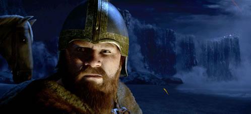 Beowufl. Wiglaf, el fiel amigo de Beowulf