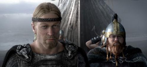 Beowufl. El héroe y su amigo Wiglaf