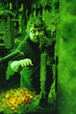 Guillermo del Toro tentando a la suerte