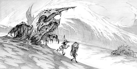 Power of the Dark Crystal (Arte Conceptual 3)