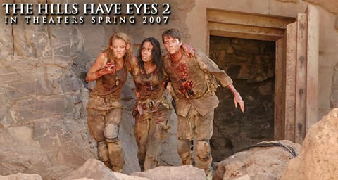 Apúntate al ejercito y enfréntate a las familias mutantes de Las Colinas tienen Ojos