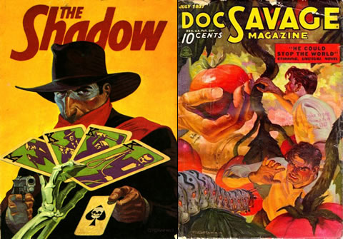 The Shadow y Doc Savage