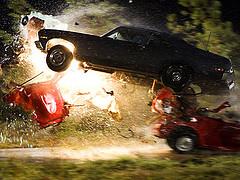 El coche de Death Proof haciendo de las suyas...