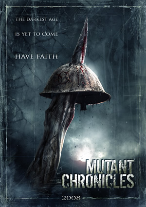 Teaser póster de The Mutant Chronicles