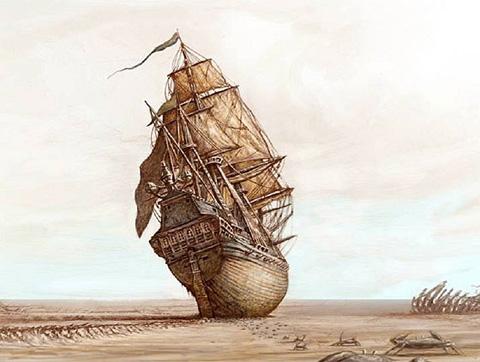 Viejas leyendas del mar: un mar vacío