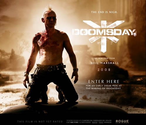 Teaser site de Doomsday
