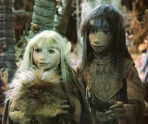 Jen y Kira de El Cristal Oscuro