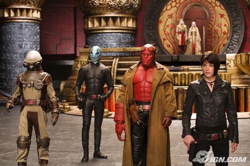 Hellboy II: The Golden Army. Todo el AIDP!