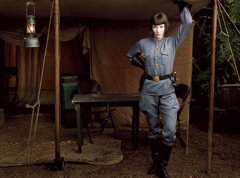 Cate Blanchett como la sexi Agente Spalko