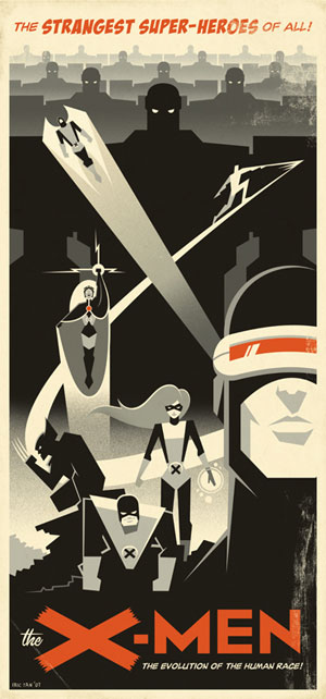 X-Men por Eric Tan