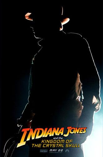 Nuevo cartel de Indiana Jones y el Reino de la Calavera de Cristal