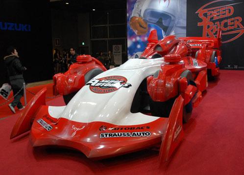 El vehículo del villano de Speed Racer