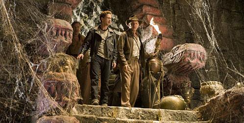 La nueva imagen de Indiana Jones y el Reino de la Calavera de Cristal