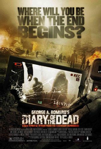Nuevo cartel de Diary of the Dead
