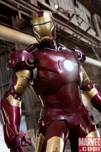 La nueva imagen de Iron Man directa del horno de Marvel.com